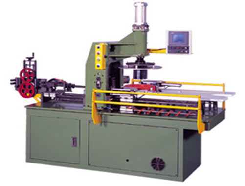 Photo of an Automated Coiling Machine