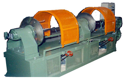 Photo of a Concentric Taping Head Machine
