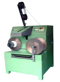 Photo of a Double Head Winding Machine