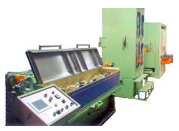 Photo of a Medium Copper Wire Drawing Machine