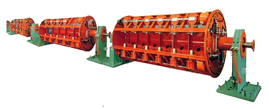 Photo of a Rigid Stranding Machine
